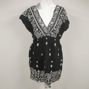 NWT Be Beau swimsuit cover up dress sequins 12